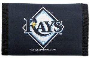 Rico MLB Nylon Trifold Wallet, Herren, Marineblau, 5