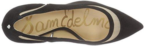 Sam Edelman - Nixon, Scarpe col tacco Donna Gold (BLACK KID SUEDE)