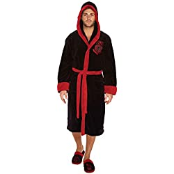 Kylo Ren Black/Red Hoodless Bathrobe