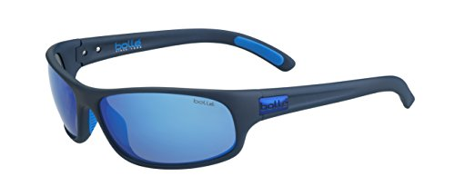 bollé Erwachsene Anaconda Sonnenbrille, Matt Mono Blue, Large