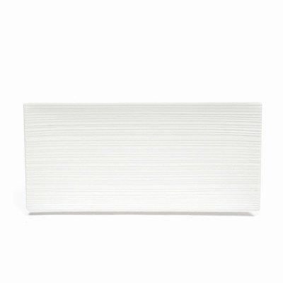 Maxwell et Williams Basics Cirque Plateau Rectangulaire, 14 cm, Blanc