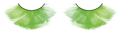 Cils de plume Long (vert Flare)