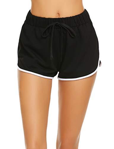Damen Kurze Hose Shorts Schlafanzughose Schlafhose Yoga
