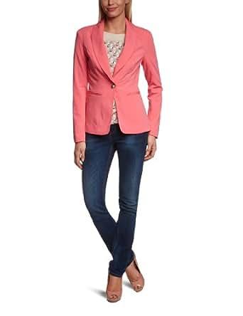 VERO MODA Damen Blazer 10091681 Prim LS Blazer, Gr. 34 (XS), Rosa (RAPTURE ROSE)