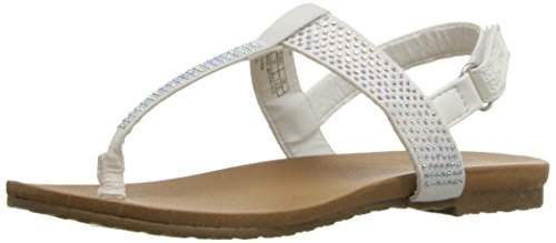 kenneth-cole-reaction-kids-tracy-sparkle-bambini-us-3-bianco-infradito
