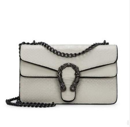 1bc0df562b Fashion Women Crocodile Pattern Leather Chain Messenger Bag Handbag Ladies  Shoulder Crossbody Bags D