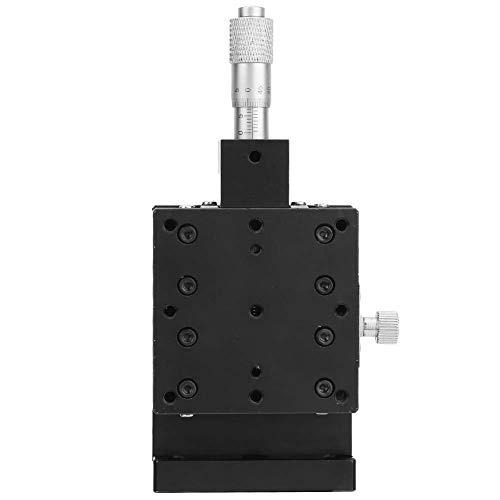 Acogedor 60 * 60mm Lineartisch, XY-Linearversteller, Einzelschienenführungsschiene, langlebig, stabile Leistung, für Lichtwellenleiter-Ausrichtung, Kerneinstellung, Verpackungssystem