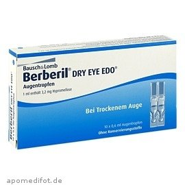 Berberil Dry Eye Edo Auge 10X0.6 ml