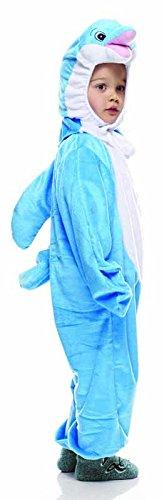 Kinder Kostüm Delfin - Rubie's IT30624-S Badeanzug Delfin, für Kinder, Größe S