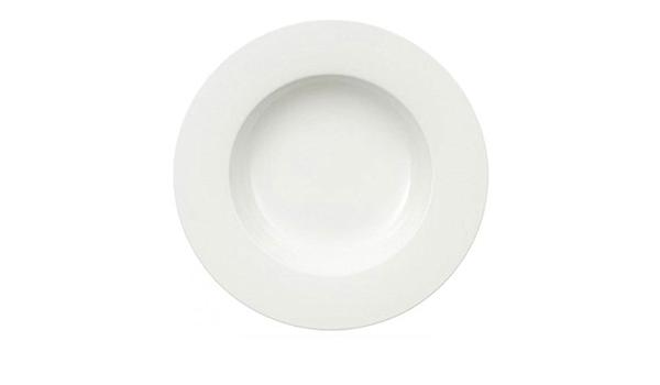 30 cm Bianco Villeroy /& Boch Royal Piatto da Pasta Utilizzabile nel Microonde Porcellana Premium Lavabile in Lavastoviglie