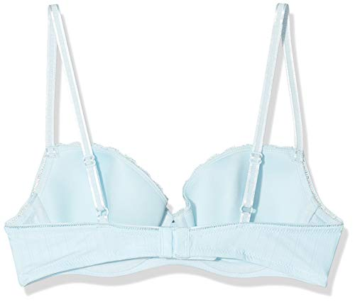 Schiesser Damen Schale Bügel-BH, Blau (Aqua 833), 90C(Herstellergröße: 090C) - 2