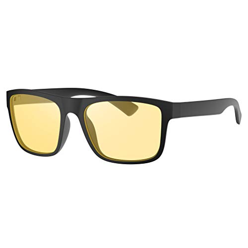 Avoalre Computerbrille Herren Damen Anti Blaulicht Brille PC Gamer Brille, filtern 95% des Blaulichts für Arbeitsplatz Handy und Fernseher -gegen Augenmüdigkeit Bildschirmbrille mit UV Schutz