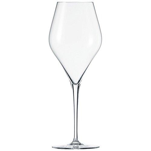Schott Zwiesel 118608 Finesse 6-teiliges bordeaux Rotweinglas Set, Kristall, farblos, 9.8