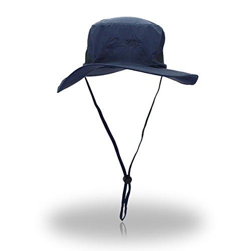 AJOG Unisex Eimer Mütze Einstellbar Safari Hut UV-Schutz Dschungel Mütze Faltbare...