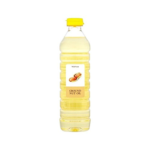 Arachide Waitrose D'Huile 500Ml - Paquet de 6