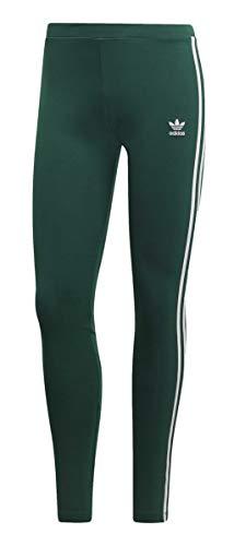adidas Damen 3-Streifen Leggings, Collegiate Green, 34 - Adidas Capri Jersey