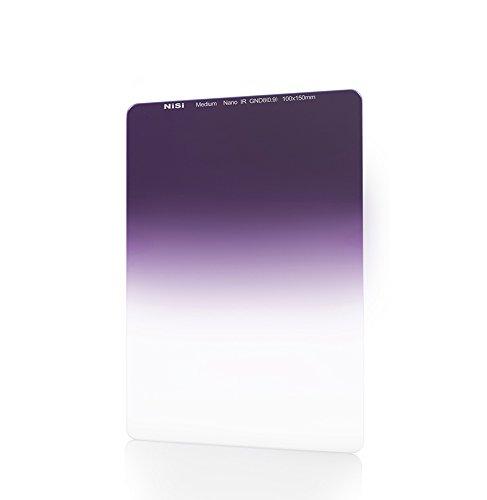 NiSi Verlaufsfilter 100x150mm GND8 0.9 Medium (3-Blenden), Nanobeschichtet und IR-Neutral, mit Mittlerem Verlauf