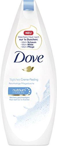 Dove Duschgel Tägliches Creme-Peeling, 6er Pack (6x250 ml)