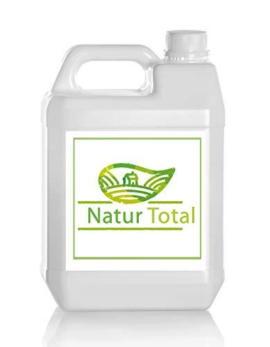 Natur Total Laborwasser, Reinst-Wasser, Labor Wasser, 2-fach destilliertes Wasser, durch Osmose entmineralisiert für Industrie und Haushalt (10 Liter)