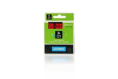Preisvergleich Produktbild Dymo 40917 / S0720720 Standard-D1-Band 9mm schwarz auf rot für Dymo Labelmaker PC 10