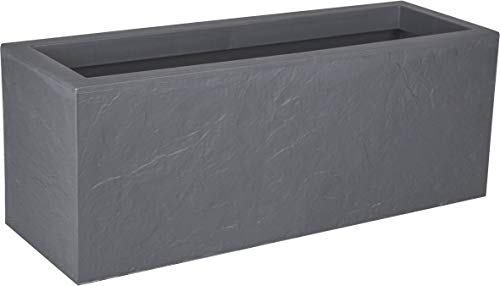 Eda volcania up fioriera, grigio, 80 cm