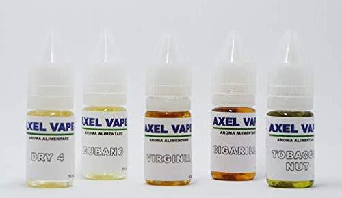 Kit aromi tabaccosi axelvape 10ml x 5 v3