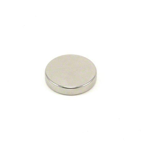 Magnet Expert® 25mm diamètre x 5mm N42 néodyme Aimant, 9,3kg Force d'adhérence, Pack de 1