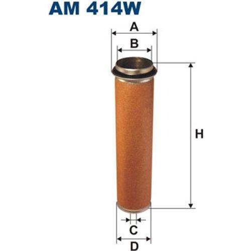 FILTRON AM414W Sekundärluftfilter (Filtron Ersatzteile)