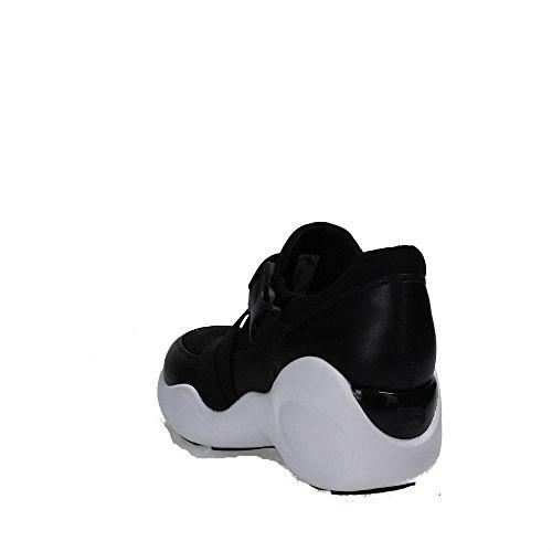 Fornarina PIFUP9555WVA0001 Sneakers Femme Tissu Noir Noir