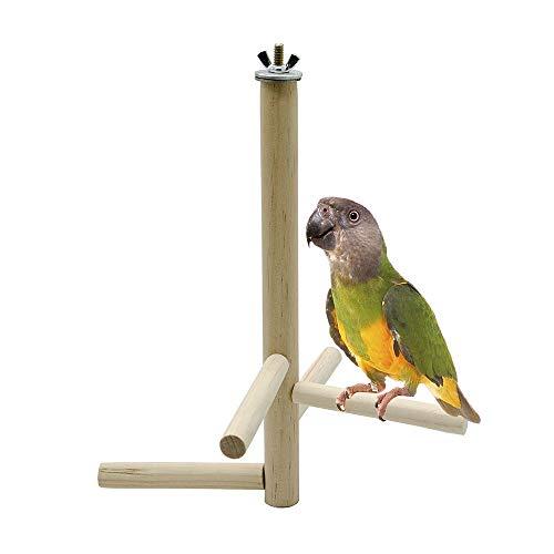 Liv-bird Vögel Spielzeug Holzleiter Bridge für Wellensittiche Sittiche Papageien Pet Training Spielzeug -