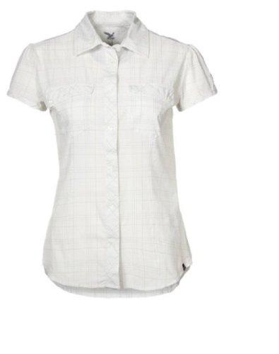SALEWA Damen Hemd Kitaa Dry Am W Short Sleeve Shirt M Talut Snow