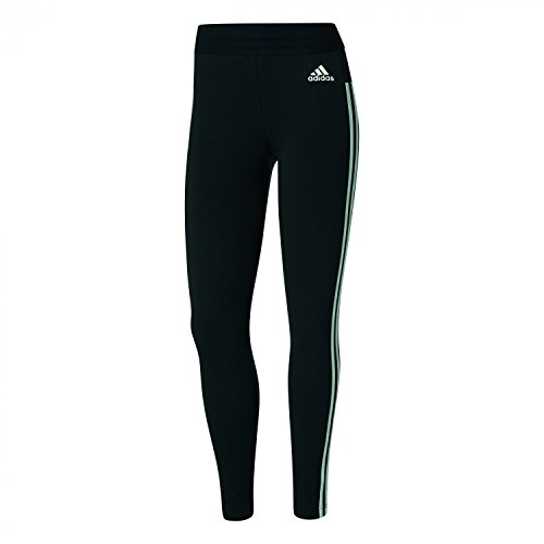 Adidas Ess 3S Tight - Pantaloni per Donna, Donna, ESS 3S Tight, negro (negro / blanco), S