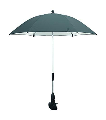 Quinny Sonnenschirm, UV-Lichtschutzfaktor von 40+, geeignet für Quinny Moodd, Buzz Xtra, Zapp Flex Plus, Zapp Flex und Zapp Xpress, grau