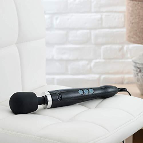 Doxy Die Cast Wand Massager Vibrator schwarz - Cast Metall-wand