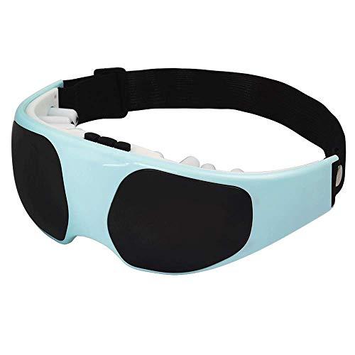 MMPY Elektrisches Augenmassagegerät Vibrationswerkzeug Gerät Augenschutz Instrument Komfortable Augenmassage Augenmaske (Farbe : Grün)