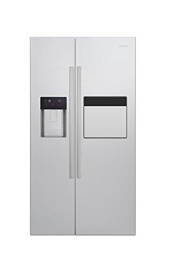 Beko GN 162420 X Side-by-Side / A+ / 182 cm Höhe / 471 kWh/Jahr / 368 L Kühlteil / 176 L Gefrierteil / Edelstahl Fingerprint Free