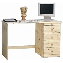 Steens 16327119 Kent 77 x 120 x 60 cm escritorio de madera de pino, madera