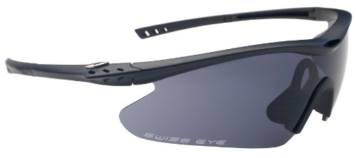 Swiss Eye Sportbrille F-16, Black Matt, One Size, 12252