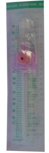 Preisvergleich Produktbild Braun Safety Vasofix 1 Stück Venenverweilkanüle Größe: G 20 x 1 1 / 4 (1, 1 x 33 mm) Farbe: rosa