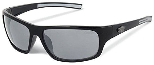Indian Motorcycle Sunglasses Sonnenbrille mit Gelb oder Grau Objektiv Gr. XX-Small/X-Small, Grey Lens