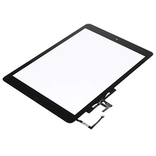 Homyl Digitizer Front LCD Display Touchscreen Frame Assembly für Apple iPad 5 / Air 1 A1474 A1475 Montagerahmen - Schwarz -