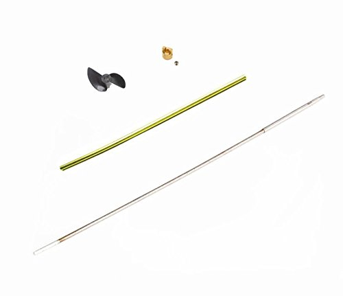 Generic Propeller : Traxxas Spartan 5707 RC Boat Spare Parts Soft Shaft / Shaft Sleeves / Propeller/ Crutch (Drive Dog) 5733/5734/5728/5729