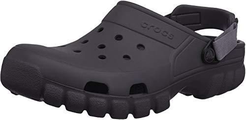 Crocs Offroad Sport Clog, Unisex - Erwachsene Clogs, Schwarz (Black/Graphite), 43/44 EU