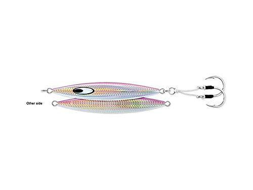 Daiwa Jig SA-SK85G01 Saltiga SLK Metaljig, 85 g, 5/0 Assist Haken, rosa (Rosa Fly Fishing Reel)