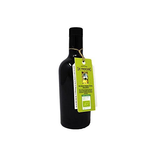 Le fascine olio extravergine d'oliva 100% italiano 250ml bio bottiglia in vetro