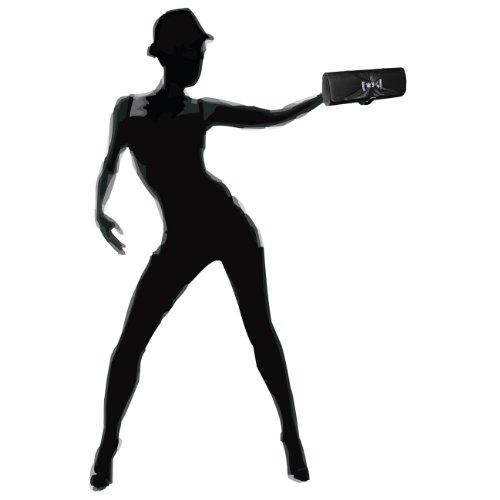 CASPAR Damen Clutch / Abendtasche mit Strass / Kristall Schleife - viele Farben schwarz