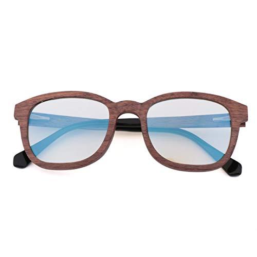 Easy Go Shopping Antike Blaue Brille der Weinlese für Männer und Frauen. Sonnenbrillen und Flacher Spiegel (Farbe : Sunglasses-a)