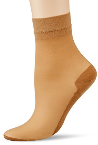 KUNERT Damen Socken Cotton Sole 169800, Gr. 39/42, Beige (Puder 3550)
