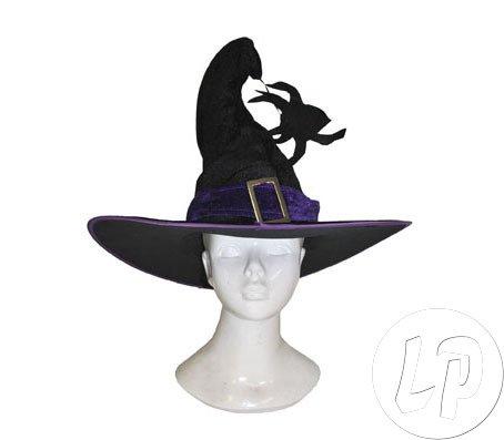 Kostüm Hexenhut Spinne Zubehör Halloween Karneval Hut Hexe (Halloween-hexe-hüte)