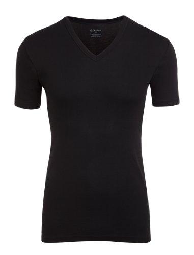 jockeyr-herren-modern-classic-v-shirt-kurzarm-18501813-schwarz-grosse-m